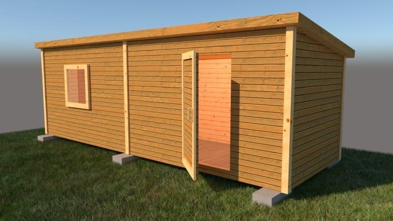 Что выбрать: деревянные бытовки или блок-контейнеры?