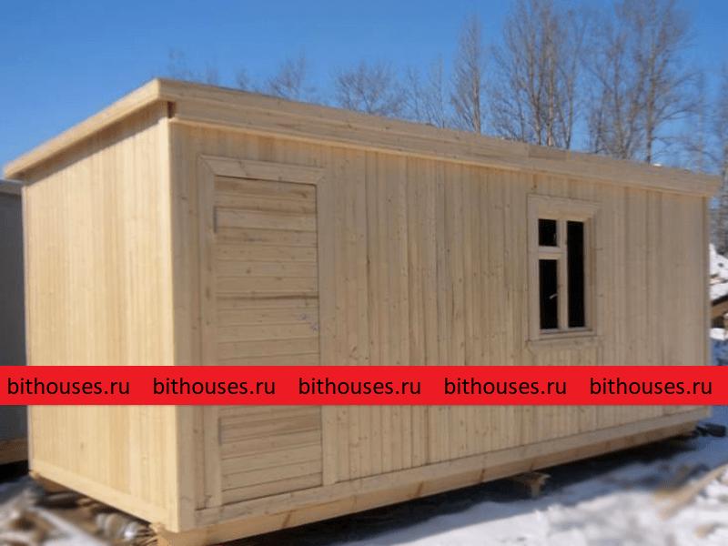 Хозблок сарай деревянный 5 метров